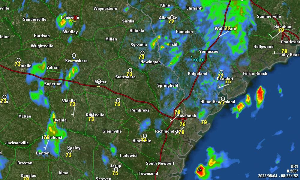 Level Radar Data From KCLX Grays SC NWS Charleston From - Charleston sc doppler radar